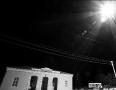 Ночной вид железнодорожного вокзала г. Малоархангельска
