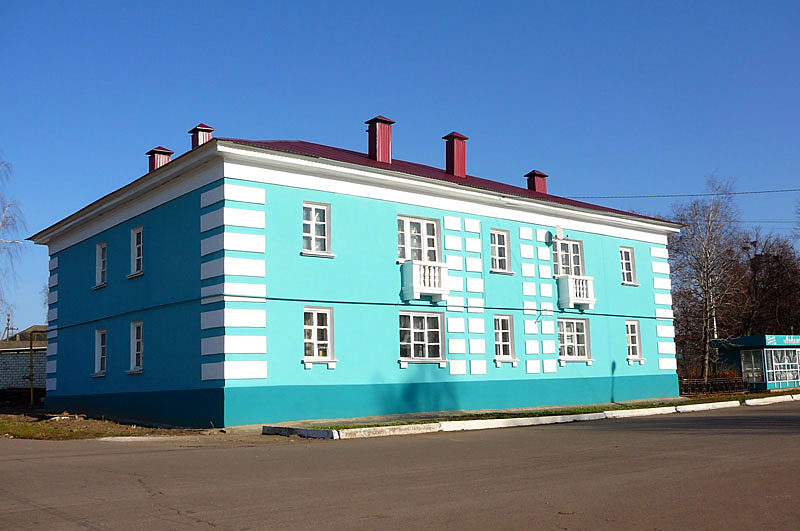 Жилой дом после ремонта