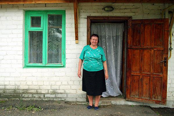 У входа в гостиницу Малоархангельска