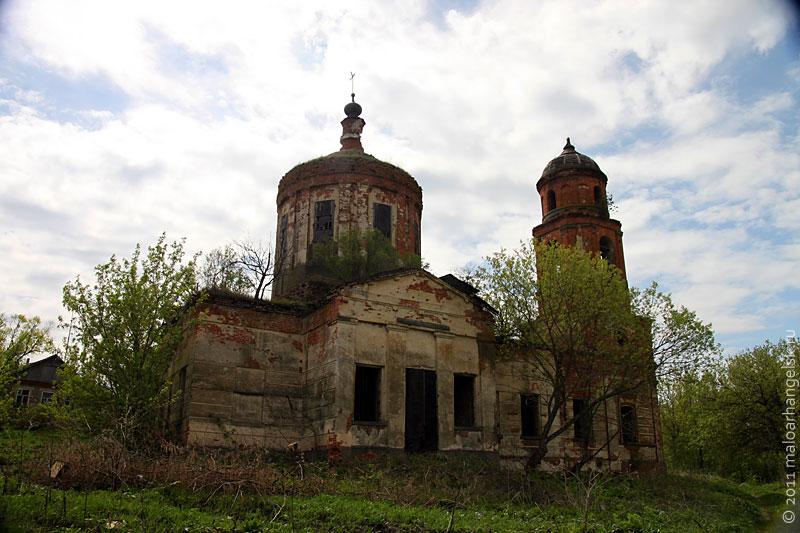 Храм в Лесках. Фото: 2011 год.