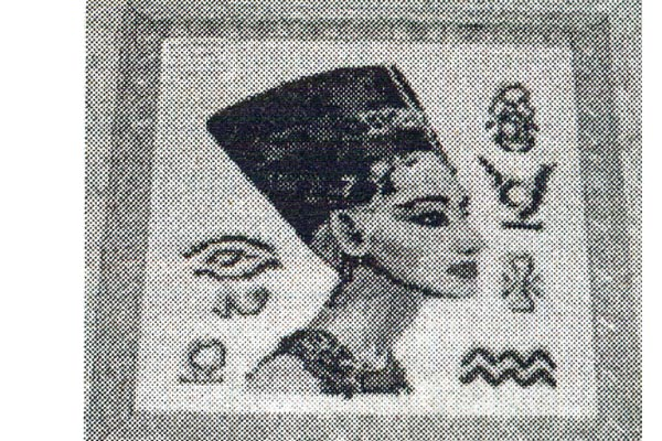 Гобелен: тканая сказка. Работа Ф. Уховой «Царица Нефертити».