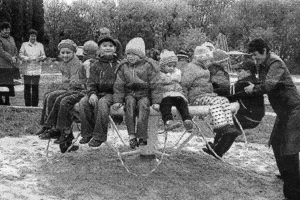 Детская площадка открыта ко Дню Победы