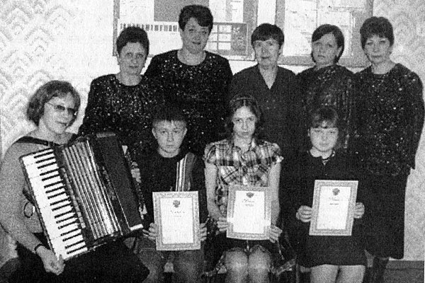 Дипломанты музыкального зонального конкурса в п. Глазуновка