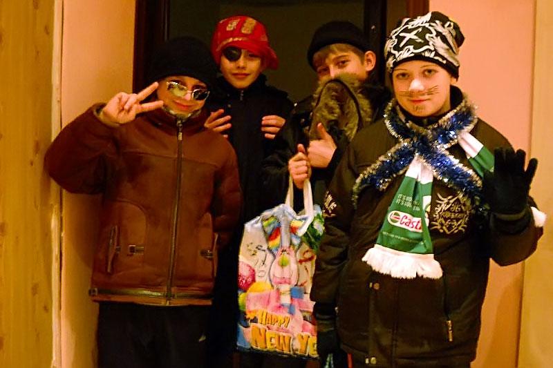 Коляда в Малоархангельске. Группа #3.