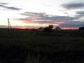 Закат близ Луковца