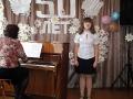 Ангелина Гайдук -одна из лучших учениц музыкальной школы.