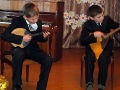 Музыкальное поздравление от воспитанников ДШИ.
