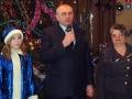 Ребят поздравляют глава района Ю.А.Маслов и глава городской администрации Н.В.Коклевская.