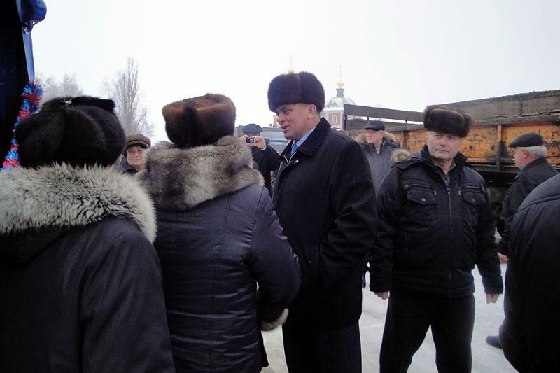 Глава Малоархангельского района Ю. А. Маслов