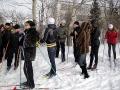 Все готовы к лыжной эстафете.