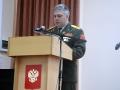 С Днем защитника Отечества малоархангельцев поздравляет начальник отделения военного комиссариата В. Ю. Макаров