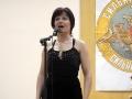 Музыкальное поздравление дарит защитникам Отечества Наталья Южанинова.
