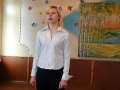 Учащаяся Валентина Бунина написала стих о родной деревне.