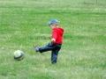 Юный футболист.