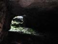 Природный колодец соединяет пещеру с поверхностью.