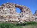 Стена древнего города.