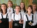Для гостей из соленого теста изготовили колокольчики.