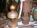 Только в 50-х годах керосиновую лампу сменило элетричество.
