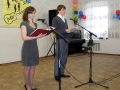 Конкурс Апрель-2012 вели Алёна и Роман.