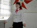 Одним из победителей районного конкурса на лучшего пионера - 2012 стала Ангелина Гайдук.