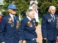 На митинг, посвящённый 67-летию Победы пришли три ветерана.
