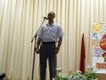 Сергей Ломовцев написал и прочитал стихотворение Тюльпаны для деда.