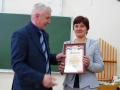Юлия Чернова стала лауреатом конкурса Учитель года 2013.