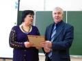 Учитель английского языка Любовь Титова - лауреат районного конкурса Учитель года 2013.