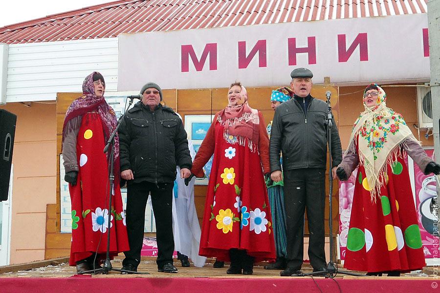 Исполнение русских песен.