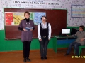 Учитель химии и биологии Н. Н. Дубровская провела мероприятие вместе со своей помощницей Настей Назаровой.