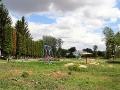 Общий вид детской площадки Малоархангельска