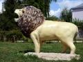 Лев на детской площадке Малоархангельска