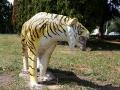 Тигр на детской площадке Малоархангельска