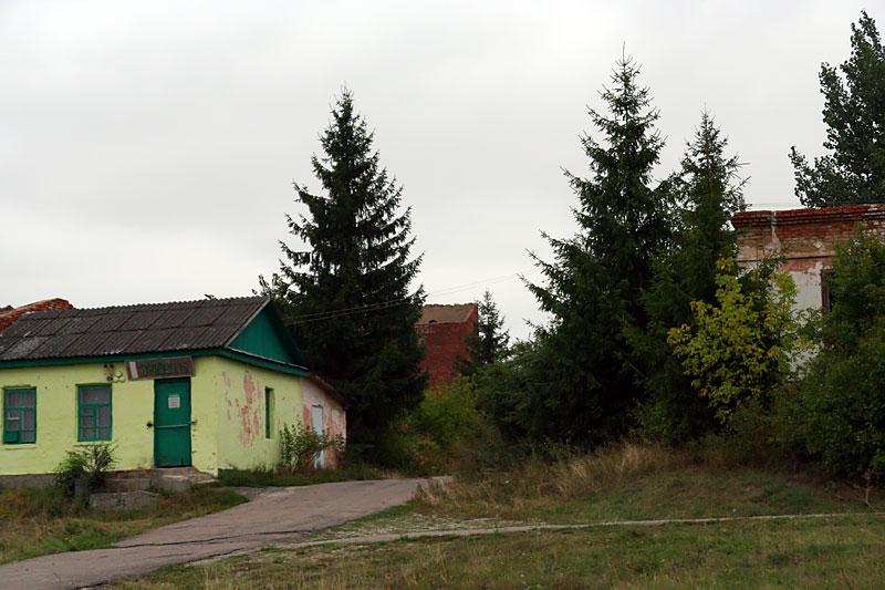 Магазин на Пенькозаводе, август 2009 года.