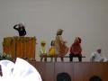 А потом был спектакль «Курица» театра-студии «Ступени».