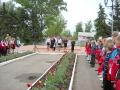 Торжественная линейка 19 мая 2010 года в Малоархангельске
