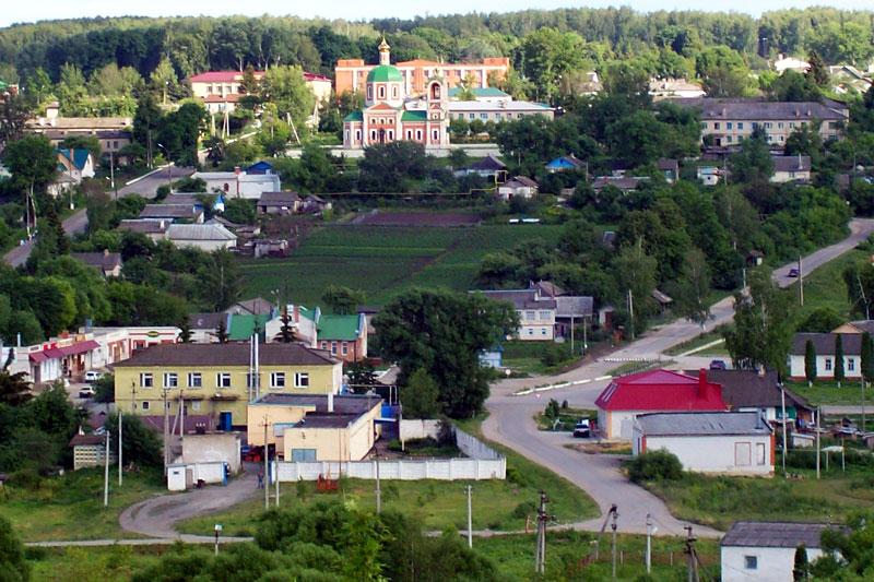 Вид с западной стороны, без ротонды парка.