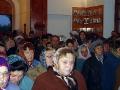 Момент торжественного богослужения в Покровском храме.