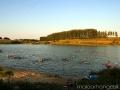 На Новом Беленьком летом много купающихся