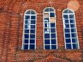 Окна в храме заменены совсем недавно.