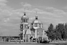 В городе появился красивый храм Михаила Архангела, духовная доминанта Малоархангельска.