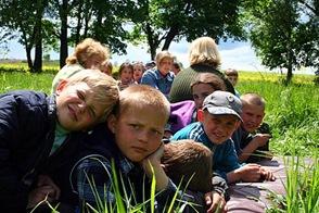 В летнем лагере, 2006 г.