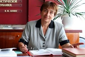 Руководитель музея боевой и трудовой славы г. Малоархангельска Жиляева Надежда Николаевна