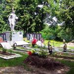 Фотография захоронения в д. Алёхино Хотынецкого района Орловской области