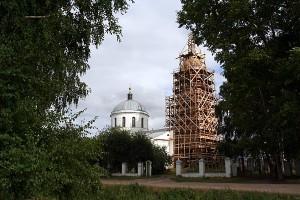 Свято-Покровский храм, с. Архарово Малоархангельского р-на. 2009 г.