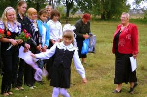 Первый звонок 2009-2010 учебного года в МОУ — Ивановская средняя школа