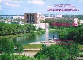 Орловщина – 2008: краткий стат. сборник. Обложка издания