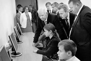 Компьютерный класс нового здания Костинской средней школы