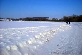 Заливной луг, зима 2010 года