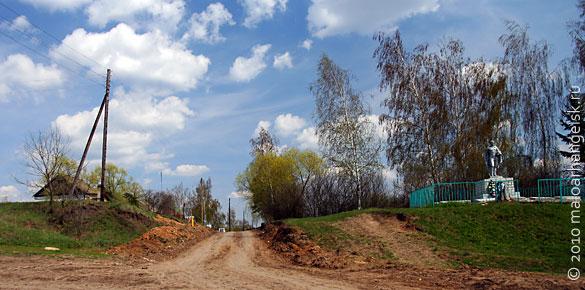 Деревня Александровка Малоархангельского р-на Орловской области